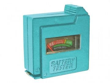 Battery Tester for AA, AAA, C, D & 9V